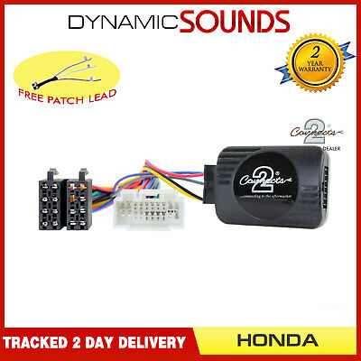 Honda CR-V 2009-2012 XTRONS Car Stereo Radio Steering Wheel Interface Stalk