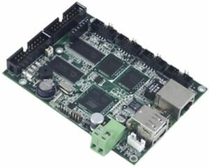 AT91RM9200 (ARM9) Board, Ethernet, 4x RS232/485, 2x USB Host, SD, M-508T