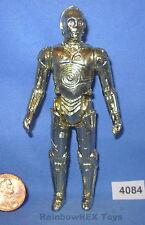 "Star Wars Vintage 1977 C-3PO G.M.F.G.I. Hong Kong 3.75"" Figure #2"