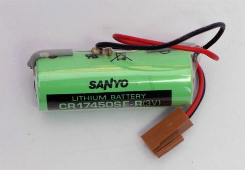 Neue Sanyo CR17450SE-R Batterie Für Fanuc A98L-0031-0012 Mit Widerstand ww