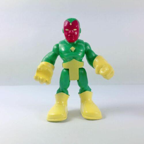 "Lot5 PlaySkool Heroes NICK FURY Ultron 2.5/"" Figure Marvel Super Hero Avengers"