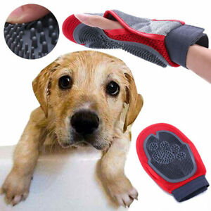 Pet-Dog-Puppy-Cat-Grooming-Glove-Dual-Side-Hair-Remover-Massage-Brush-Comb