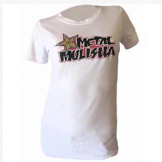 Metal Mulisha Ladies Works Rockstar Tee Size M