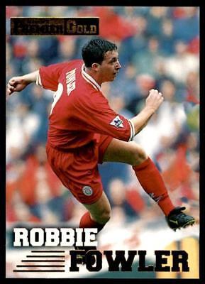 Liverpool Robbie Fowler #74 Merlin Premier Dorado 1996-1997