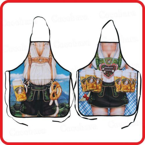 APRON-OKTOBERFEST-VOLKSFEST-BEER FESTIVAL-LEDERHOSEN DIRNDL BAVARIAN GERMAN-BBQ