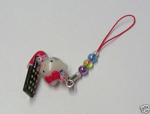 Hello Kitty Cosplay Cookie Mama CellPhone Charm