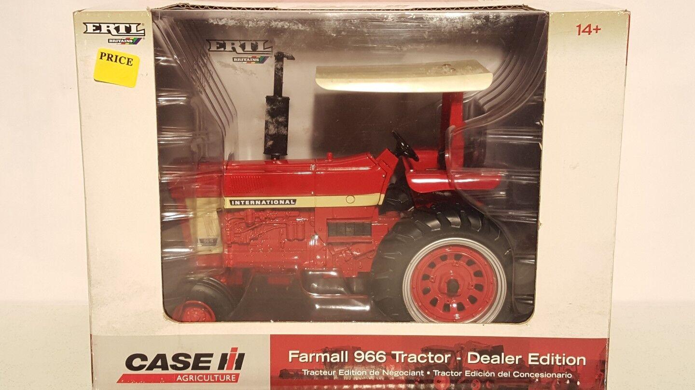 sorteos de estadio ERTL Farmall Farmall Farmall 966 Distribuidor Edition 1 16 diecast coleccionables réplica de tractor de granja  últimos estilos
