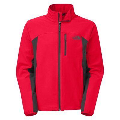 Men's The North Face Jacket Apex Pneumatic Softshell TNF RED Asphalt Grey 2XL