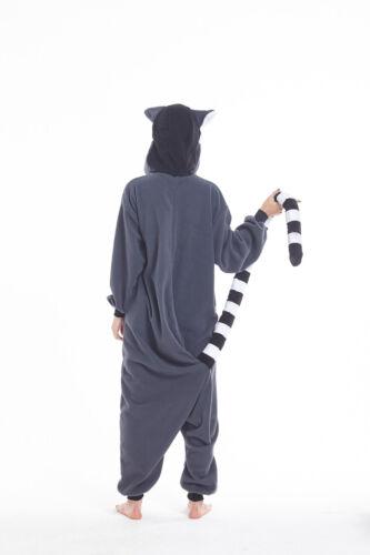 Lemur Women Men Adult Animal Cosplay Pajamas Costumes Kigurumi Onesie0 Sleepwear