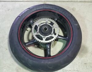 08-16-2008-2016-Yamaha-R6R-YZF-R6-YZFR6-Rear-Wheel-Sprocket-Brake-Rotor-TIRE