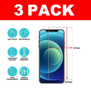 For iPhone 11, 12 Pro Max iPhone XR X XS SE 2020 Gorilla Glass Screen Protector