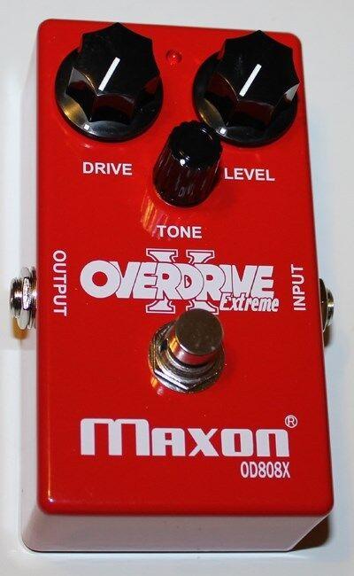 MAXON OD808X (Extreme) Overdrive Pedal De Efectos, Nuevo, Nuevo, Nuevo, Maxon Distribuidor Autorizado 16ecfb
