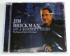 JIM BRICKMAN - ON A WINTER'S NIGHT CD The Songs and Spirit of Christmas >NEW<