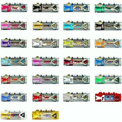 POWER RANGERS DINO CHARGE DINO CHARGER ENERGEM 00-23 GOLD FREEPOST LOT OF CHOICE