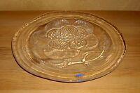 Wärtsilä  Finland 1 wunderschöne Kristallplatte für Obst, Kekse usw. Blumendekor