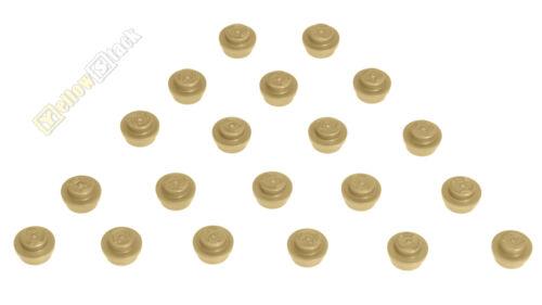 20x LEGO ® 4073 1x1 environ-Plaque Beige Sable Nouveau Tan Plate
