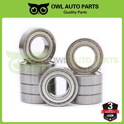 6005-ZZ metal shields 6005Z bearing 6005 2Z ball bearings 6005 ZZ Qty.10
