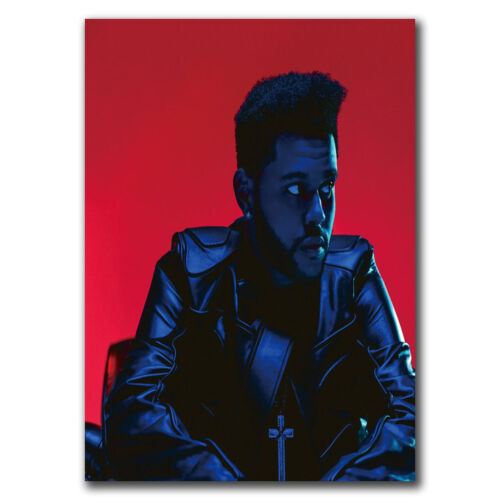 24x36 40inch E2497 Art The Weeknd Hip Hop Starboy Rap Cover Poster Hot Gift
