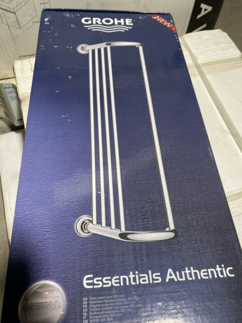 Grohe Essentials 40344 Set Accessories Bathroom 5 In 1 Chrome For Sale Ebay