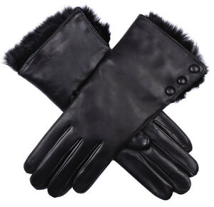 ce631550aab74 Image is loading Dents-Sophie-wool-lined-hairsheep-leather-gloves-with-