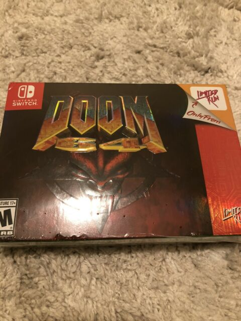 Limited Run Games: DOOM 64 Classic Edition for Nintendo Switch - SEALED Fast S/H