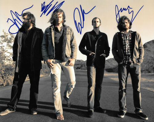 GFA Come With Me Now KONGOS Band Signed 8x10 Photo AD1 COA