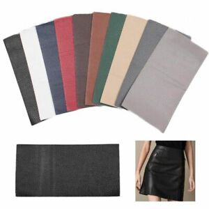 Self Adhesive Durable Imitation Leather 10cm*20cm Sofa Repairing Leather Patch