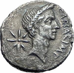 JULIUS-CAESAR-Lifetime-Portrait-44BC-Rome-Ancient-Silver-Roman-Coin-NGC-i77659