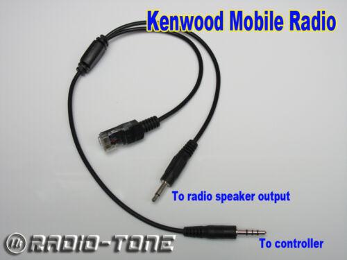 Radio-tone Adaptor Cable for Kenwood Mobile TK-5720 TK-5820 K-7100 TK-8100 Radio