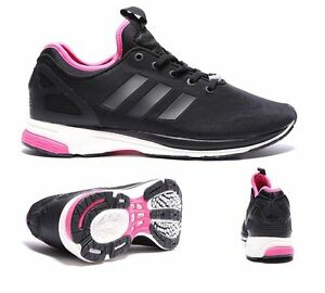 5c30128390d adidas Originals ZX Flux Tech NPS B35151 Black Trainers Size UK 10 ...