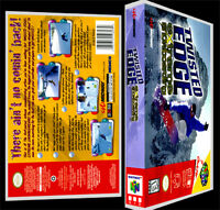 Twisted Edge Extreme Snowboarding - N64 Reproduction Art Case/box No Game.