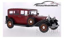 #18032 - MCG Mercedes Typ Nürburg 460/460 K (W08) - dunkelrot - 1928 - 1:18