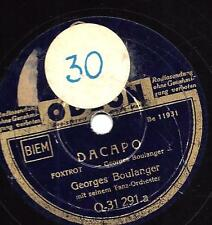 Georges Boulanger Orchester : Da Capo + Tokaj