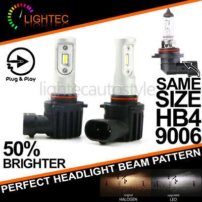 NEW H7 SUPER SLIM LED CONVERSION CAR HEADLIGHT BULBS KIT 5700K XENON WHITE V10