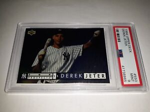 Details About 1994 Upper Deck 550 Derek Jeter Rookie Card Rc Graded Psa 9 Mint Hof 2020