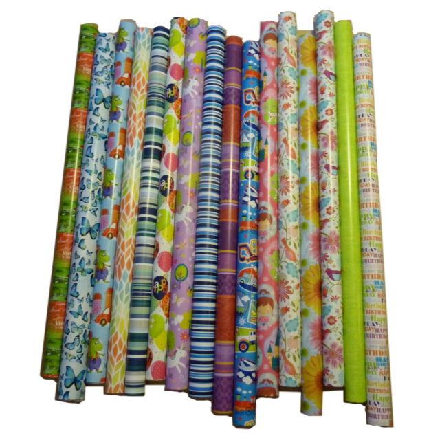 m 25 Rollen  Geschenkpapier,Geschenkspapier   2 m x 0,70 m =  50 lfd
