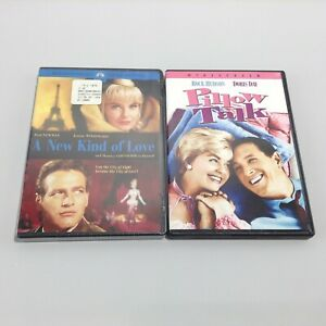 LOT 2 DVD MOVIES A New Kind of Love (2005, Widescreen Collection) + PILLOW TALK