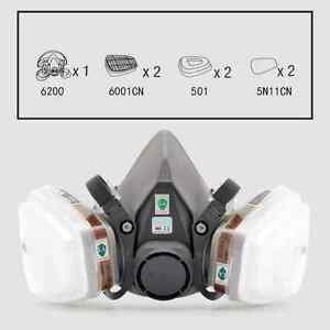 Confident 17 In 1 Suit Painting Spraying Gas Mask Same For 3 M 6200 Half Face Gas Mask Respirator Grade Products According To Quality Hand & Power Tool Accessories