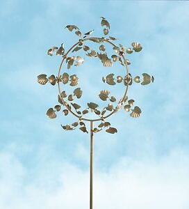 Marvellous Wind Amp Weather Ginkgo Leaf Metal Wind Spinner  Metal Garden  With Gorgeous Image Is Loading Windampweatherginkgoleafmetalwindspinner With Beautiful Busy Bee Garden Services Also Jewellery Shops Hatton Garden In Addition Retractable Garden Hose And Painted Garden Fence As Well As Swiss Gardens Old Warden Additionally Hilton Garden Inn Herald Square From Ebaycom With   Gorgeous Wind Amp Weather Ginkgo Leaf Metal Wind Spinner  Metal Garden  With Beautiful Image Is Loading Windampweatherginkgoleafmetalwindspinner And Marvellous Busy Bee Garden Services Also Jewellery Shops Hatton Garden In Addition Retractable Garden Hose From Ebaycom