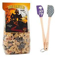 Halloween Gift Set Tovolo Mini Skeleton Spatulas & Plentiful Pantry Pasta 1 Each