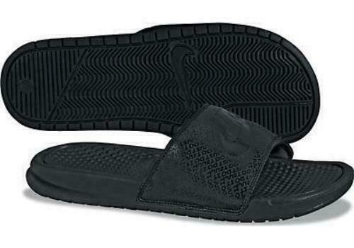 Nike Benassi JDI Men's Slide - Black/Black/Black, US 10 (343880-001) for  sale online | eBay