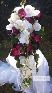 Brautstrauss Weiss Orchideen Hochzeit Brautstrauss Neu Lila