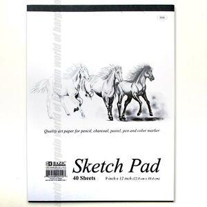 40-sheets-SKETCH-PAD-9x12-Sketchbook-Premium-Quality-Drawing-Art-Paper-Book-C28