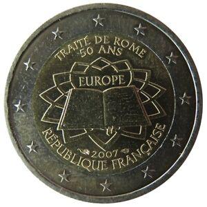 FR20007.1 - FRANCE - 2 euros commémo. Traité de Rome - 2007