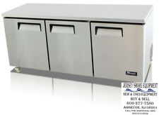 Migali C U72r Under Counter Amp Work Top Refrigerator Three Solid Doors Warranty