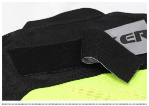 Riding Tribe Motorcycle Reflective Vest Safety Warning Waistcoat Uniform Vests