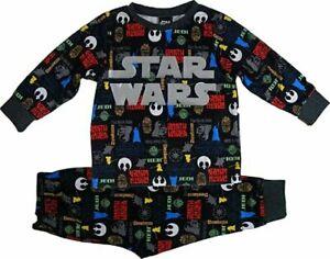 Star Wars Micro Fleece Pyjamas. Age 3-4 Years. Brand New With Tags
