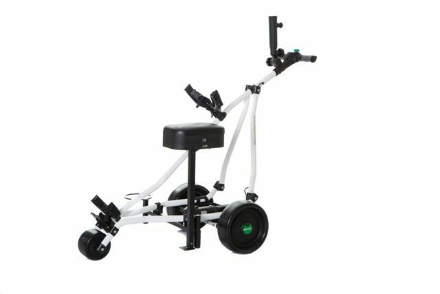 GreenHill 180GX EMD Made in UK 22Ah Lithium Powered Electric Golf Buggy Trolley