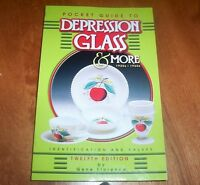 Pocket Guide To Depression Glass Antique Glasses Collector Collection Book