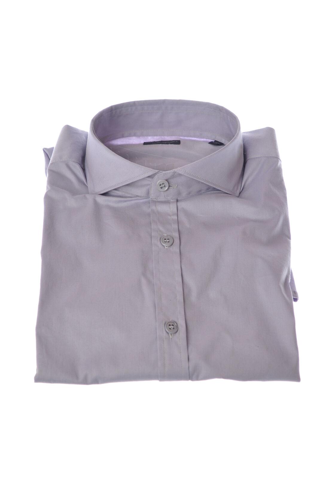 Paolo Pecora - Shirts-Shirt - Man - Grau - 3000706C183735